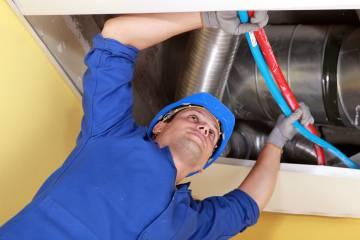 монтаж вентеляционных труб