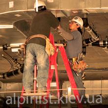монтаж вентиляционных труб нашими специалистами фото категории