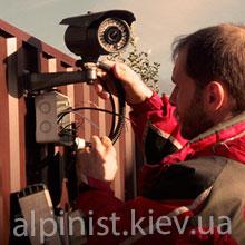 монтаж видеонаблюдения альпинистами фото категории