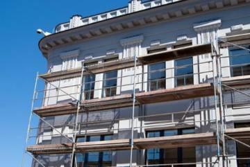 реставрации фасадов