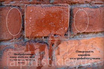технология осуществления гидрофобизация фасадов фото