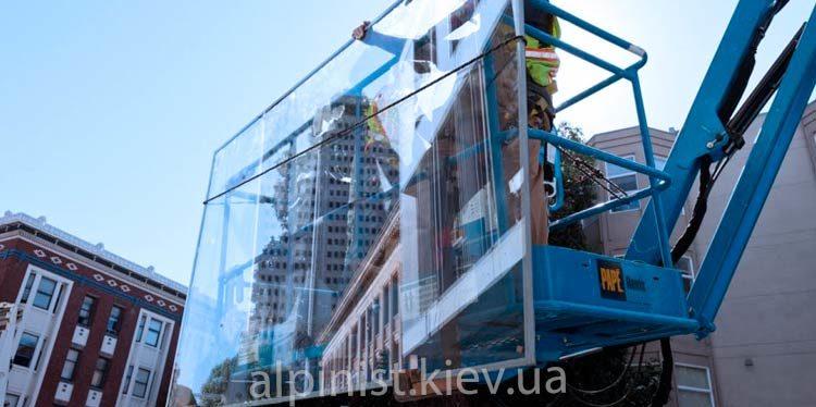 остекление фасадов альпинистами фото слайдера