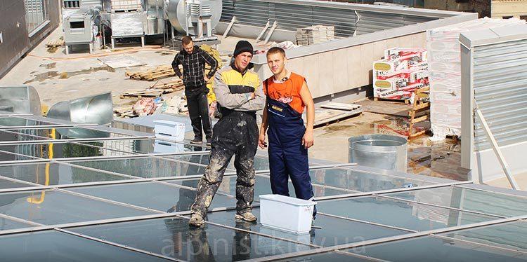 уборка альпинистами после строителей трц форум фото слайдера