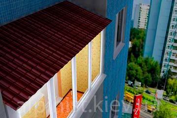 заказать ремонт крыши балкона фото