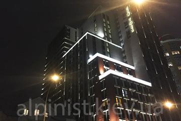 Подсветка фасада стоимость наших услуг фото