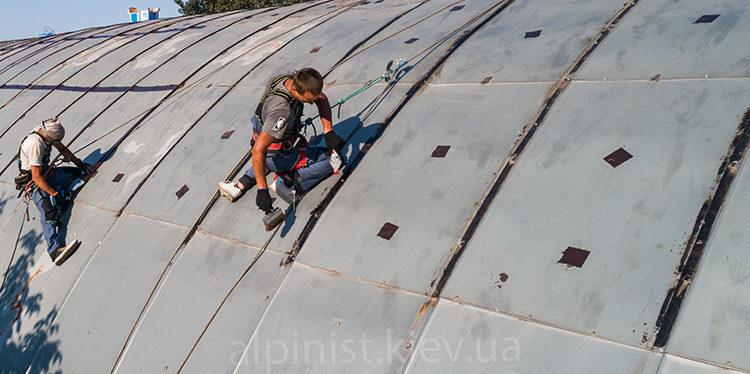 гидроизоляция крыши ангара на выдубичах фото слайдера