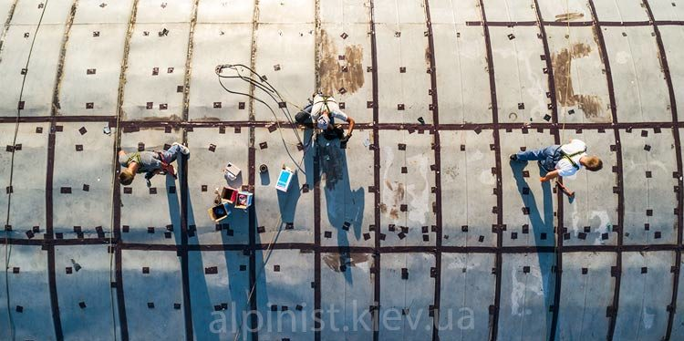 гидроизоляция крыши ангара киев выдубичи фото слайдера