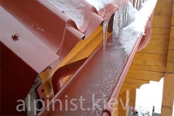 готовим водостоки к Зиме с профессионалами фото