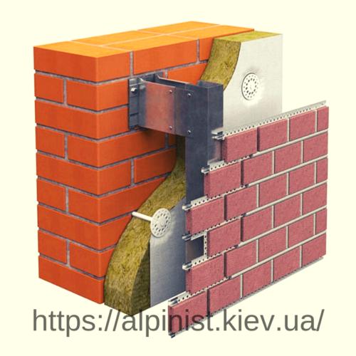 Как сделать ремонт вент фасада из плитки фото